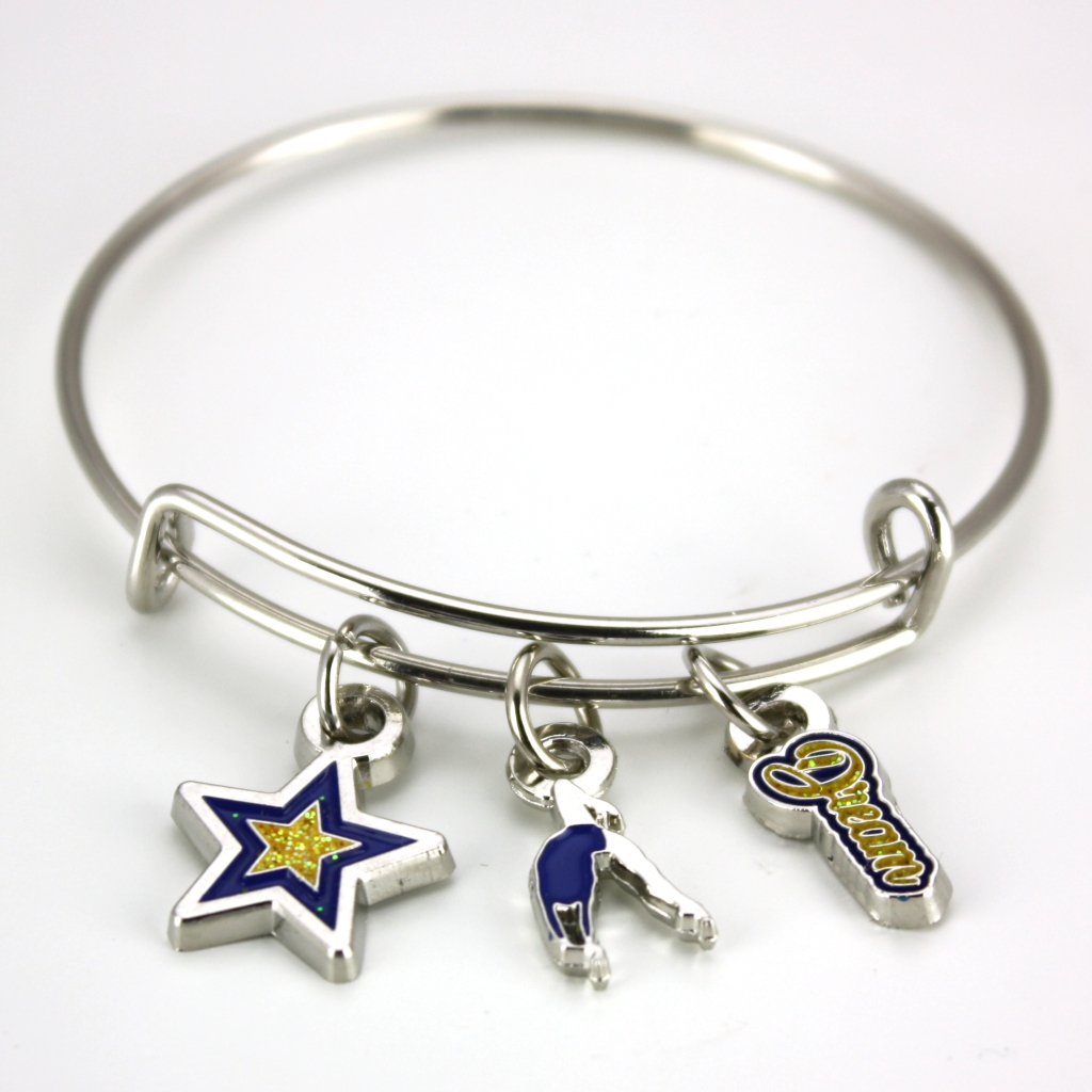 Dare to Dream Stackable Charm Bracelet [DD-CHM]